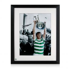 Framed Signed Billy McNeill Photo