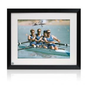 Sir Steve Redgrave Signed Framed Photo: The Winning Team