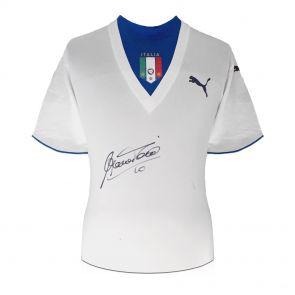 Francesco Totti Signed Italy Away Shirt