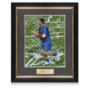 Framed Francesco Totti Signed photo