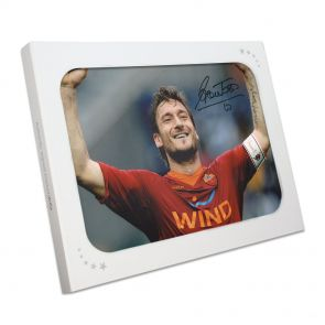 Francesco Totti Signed photo In Gift Box