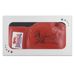 Frank Bruno Signed Boxing Glove In Gift Box