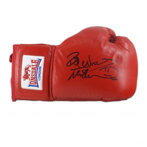 Frank Bruno Signed Glove