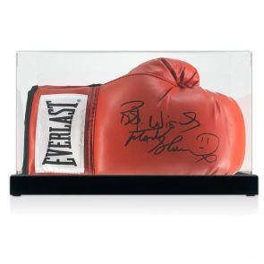 Frank Bruno autographed boxing glove