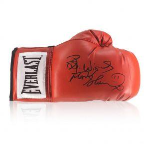 Frank Bruno Signed Everlast Boxing Glove In Display Case
