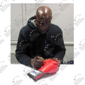 Frank Bruno Signed Boxing Glove