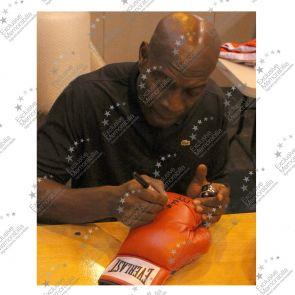 Frank Bruno Signed Everlast Boxing Glove