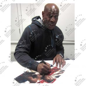 Frank Bruno Signed And Framed Boxing Photo: WBC World Heavyweight Champion