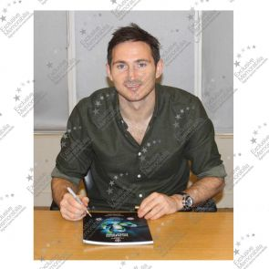 Frank Lampard Signed Champions League Programme