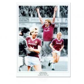 Frank McAvennie Signed West Ham Photo