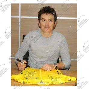 Geraint Thomas Signed Tour De France 2018 Pro Yellow Jersey In Gift Box