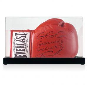 Gennady Golovkin Signed Glove Display Case