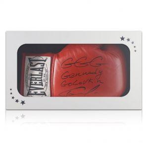 Gennady Golovkin Signed Glove Gift Box