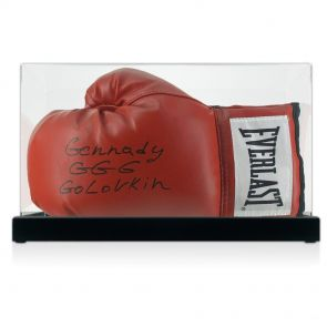 Gennady Golovkin Signed Glove In Display Case