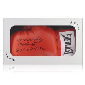 Gennady Golovkin Signed Glove In Gift Box