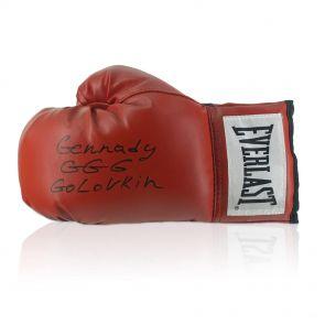 Gennady Golovkin Signed Glove