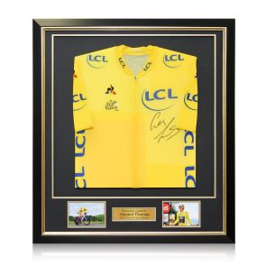Framed Geraint Thomas Signed Jersey
