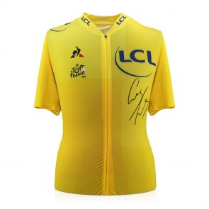 Geraint Thomas Signed Jersey