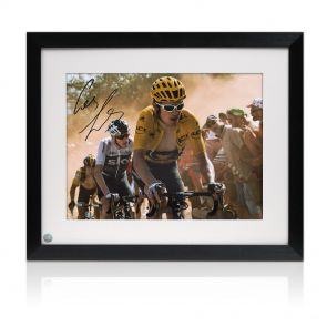 Framed Geraint Thomas Signed Photo