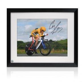 Framed Geraint Thomas Signed Photo