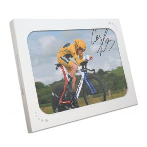 Geraint Thomas Signed Photo In Gift Box