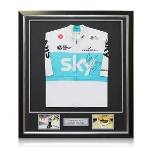 Framed Geraint Thomas Signed Jersey