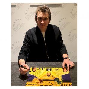 Geraint Thomas Signed Tour De France Photo: 2018 Champion Framed
