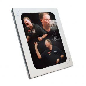 Signed van Barneveld photo in gift box