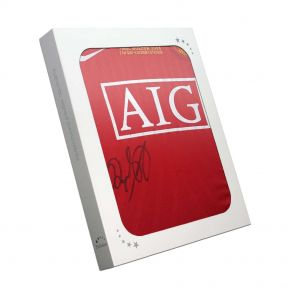 Ryan Giggs Signed 2008 Champions League Shirt In Gift Box