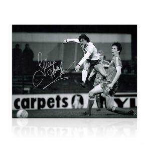 Glenn Hoddle Signed Tottenham Hotspur Photo: Road To Wembley In Gift Box
