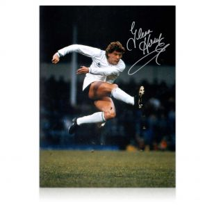 Glenn Hoddle Signed Tottenham Hotspur Photo In Gift Box