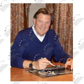 Glenn Hoddle Signed Tottenham Hotspur Photo: Road To Wembley
