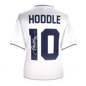 Glenn Hoddle Signed Tottenham Hotspur Shirt: Number 10. In Gift Box