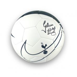 Glenn Hoddle Signed Tottenham Hotspur Football