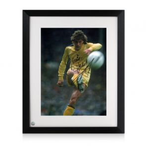 Glenn Hoddle Signed Tottenham Hotspur Photo: 1982 FA Cup Final. Framed