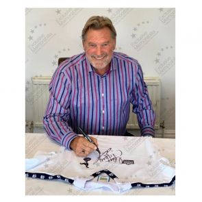 Glenn Hoddle Signed Tottenham Hotspur 1978 Shirt. Superior Frame