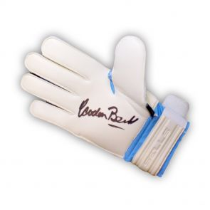Signed Gordon Banks Glove