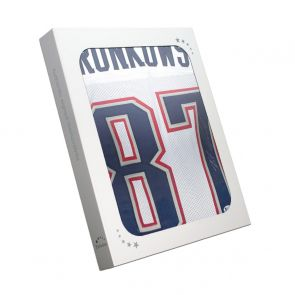 Rob Gronkowski Signed American Football Jersey. In Gift Box