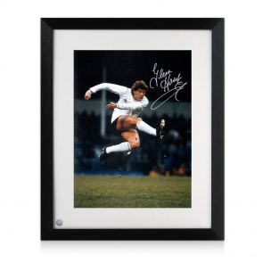 Glenn Hoddle Signed and Framed Tottenham Hotspur Photo