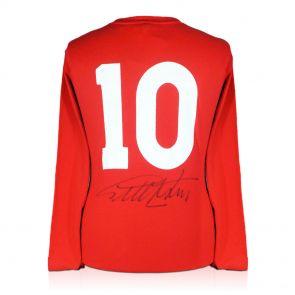 Signed Sir Geoff Hurst Shirt