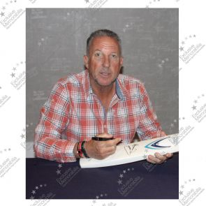 Sir Ian Botham Signed England Cricket Bat