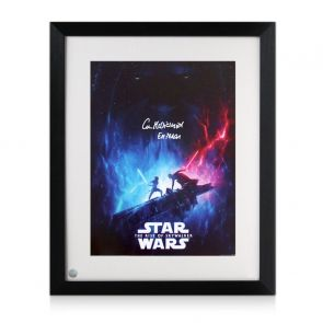 Ian McDiarmid Signed Star Wars Poster: The Rise Of Skywalker Framed