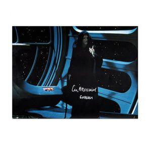 Ian McDiarmid Signed Star Wars Photo: The Emperor