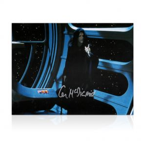 Ian McDiarmid Signed Star Wars Photo: The Emperor In Gift Box