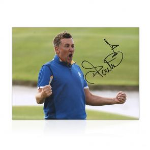 Ian Poulter Signed Photo: Ryder Cup 2018 In Gift Box