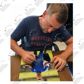 Ian Poulter Signed Golf Photo: The Postman