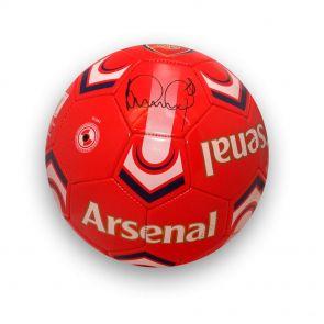 Ian Wright Signed Arsenal Football