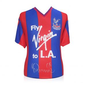 Ian Wright Signed Crystal Palace Jersey