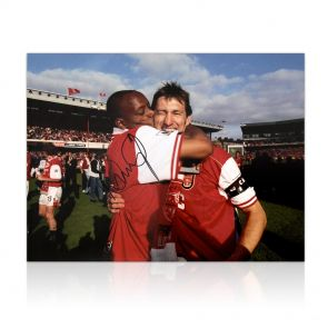 Ian Wright Signed Photo
