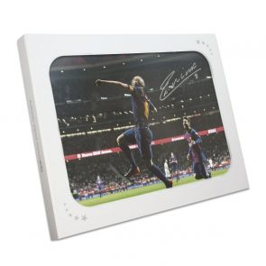 Andres Iniesta Signed Photo